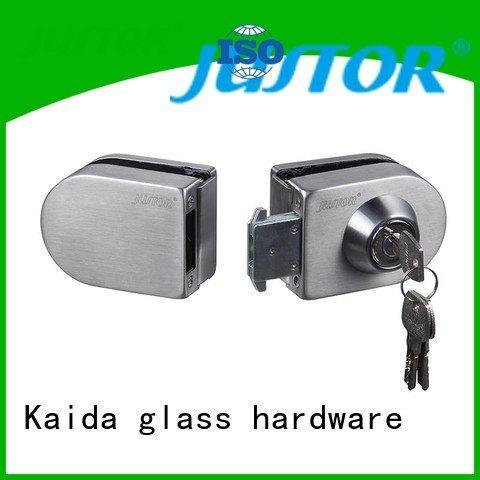 chamber Office lock Kaida glass hardware glass door lock