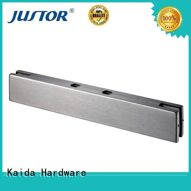 patch fitting glass door square for hotel Kaida glass hardware