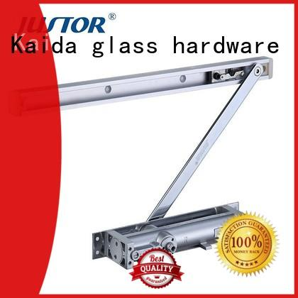 Kaida glass hardware concealed magnetic door closer from China for one-way casement doors