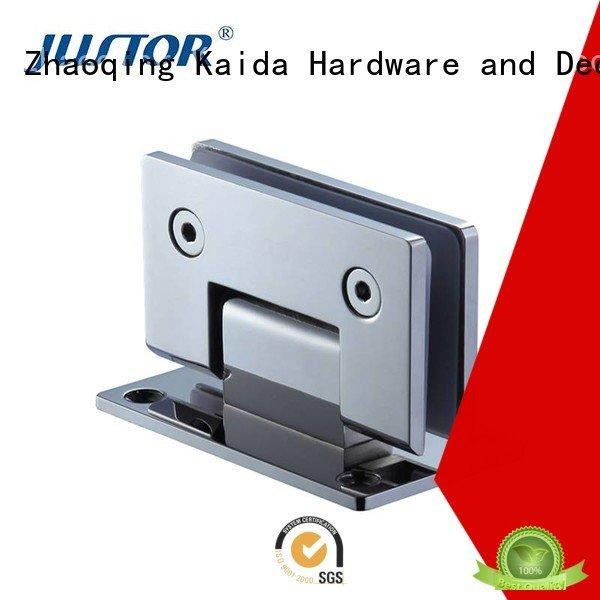 glass to glass hinges clip glass door hinges Kaida glass hardware Brand