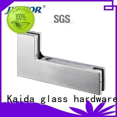 iron floor spring glass door fittings Kaida glass hardware