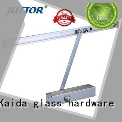 Kaida glass hardware heavy duty commercial door closer factory direct supply for warehouses