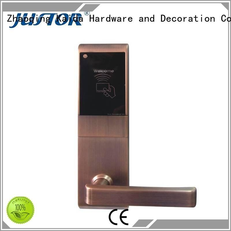 fission Aluminum alloy digital door lock Kaida glass hardware Brand