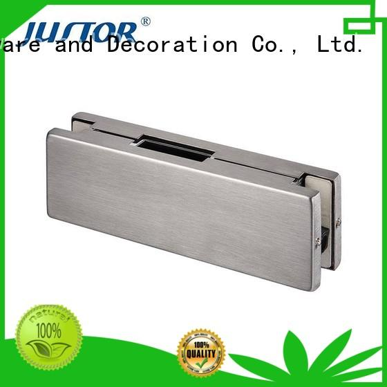 stainless steel patch fitting square for offices Kaida glass hardware