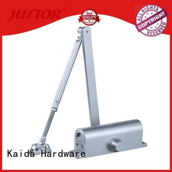 Kaida glass hardware adjustable automatic door closer design for one-way casement doors