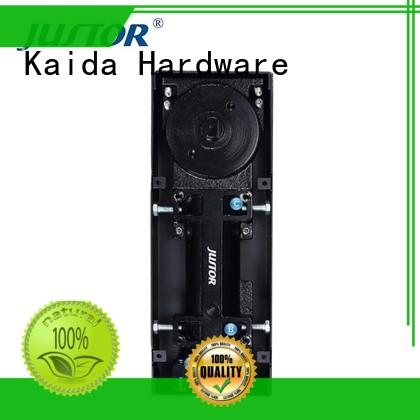 Kaida glass hardware double cylinder floor spring price from China for office buildings