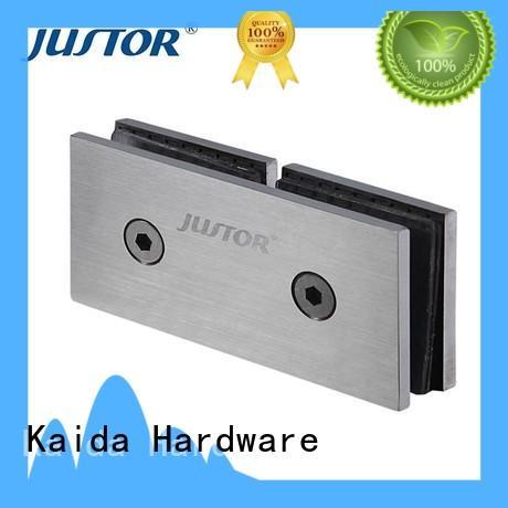 Kaida glass hardware bidirectional opening glass shower door hinges manufacturer for shower room