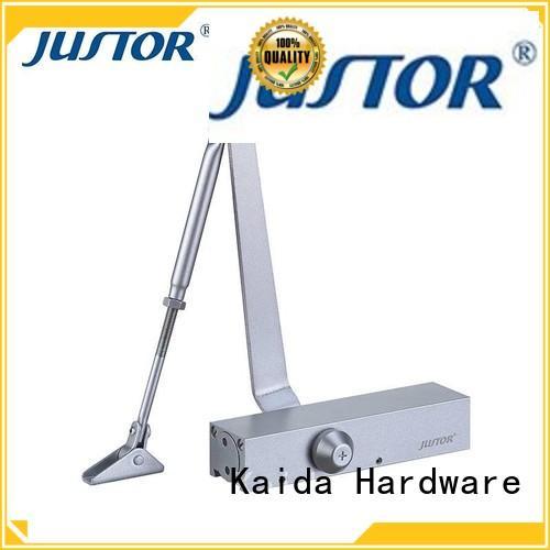 overhead door closer hardware aluminum alloy for warehouses Kaida glass hardware