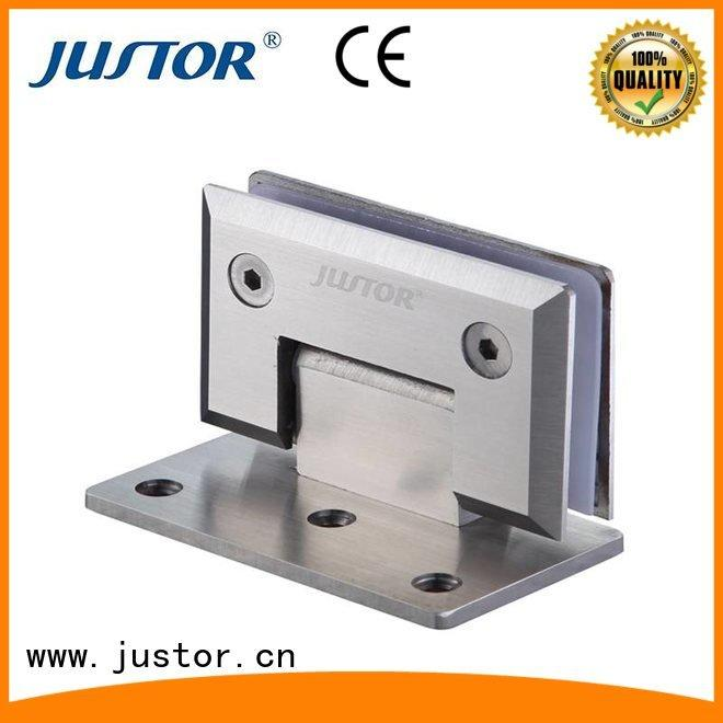 glass to glass hinges Shower room 180 degree glass door hinges