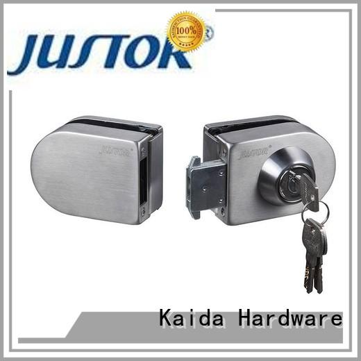 Kaida glass hardware aluminum sliding glass door lock series for security doors