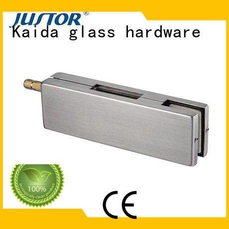 Custom patch fitting floor spring Stainless steel 10mm Kaida glass hardware