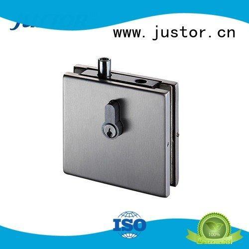 glass door fittings Aluminum zinc patch fitting Kaida glass hardware Brand