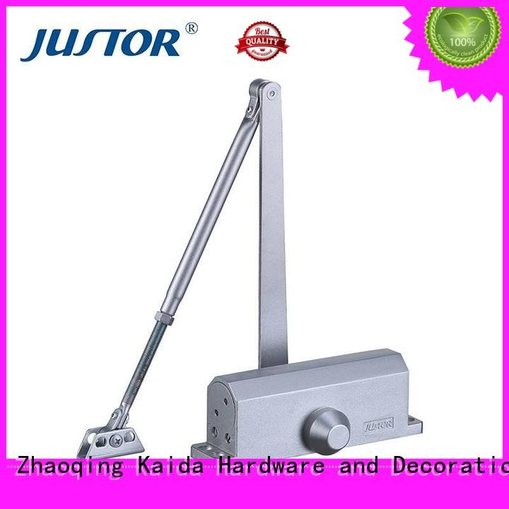 Kaida glass hardware high quality hydraulic door closer directly sale for warehouses