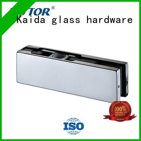 glass door fittings iron patch OEM patch fitting Kaida glass hardware