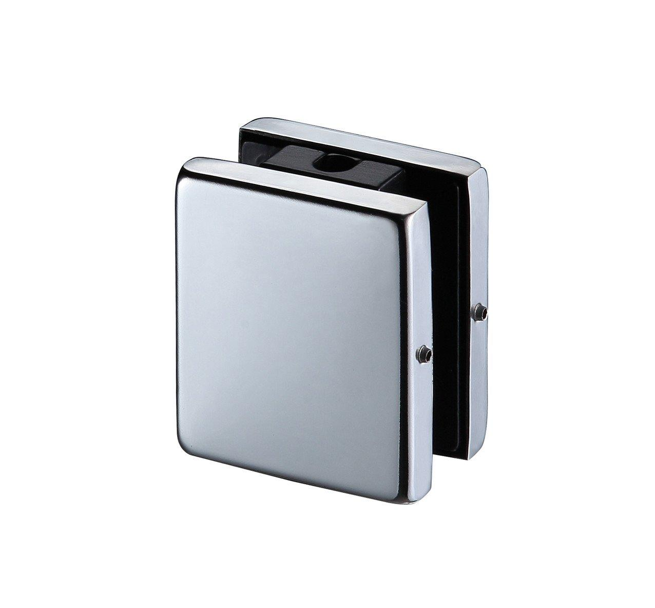 Kaida glass hardware Stainless steel zinc patch glass door fittings Aluminum