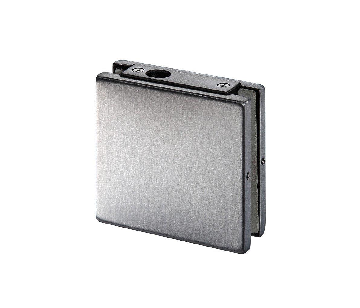 Hot glass door fittings zinc iron 10mm Kaida glass hardware Brand